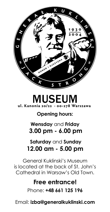 Muzeum, Museum, Izba Pamięci Generała Kuklińskiego